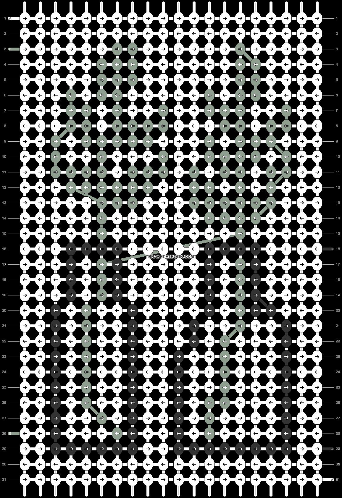 Alpha pattern #73302 pattern