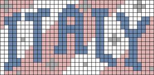 Alpha pattern #73303