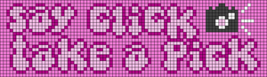 Alpha pattern #73327