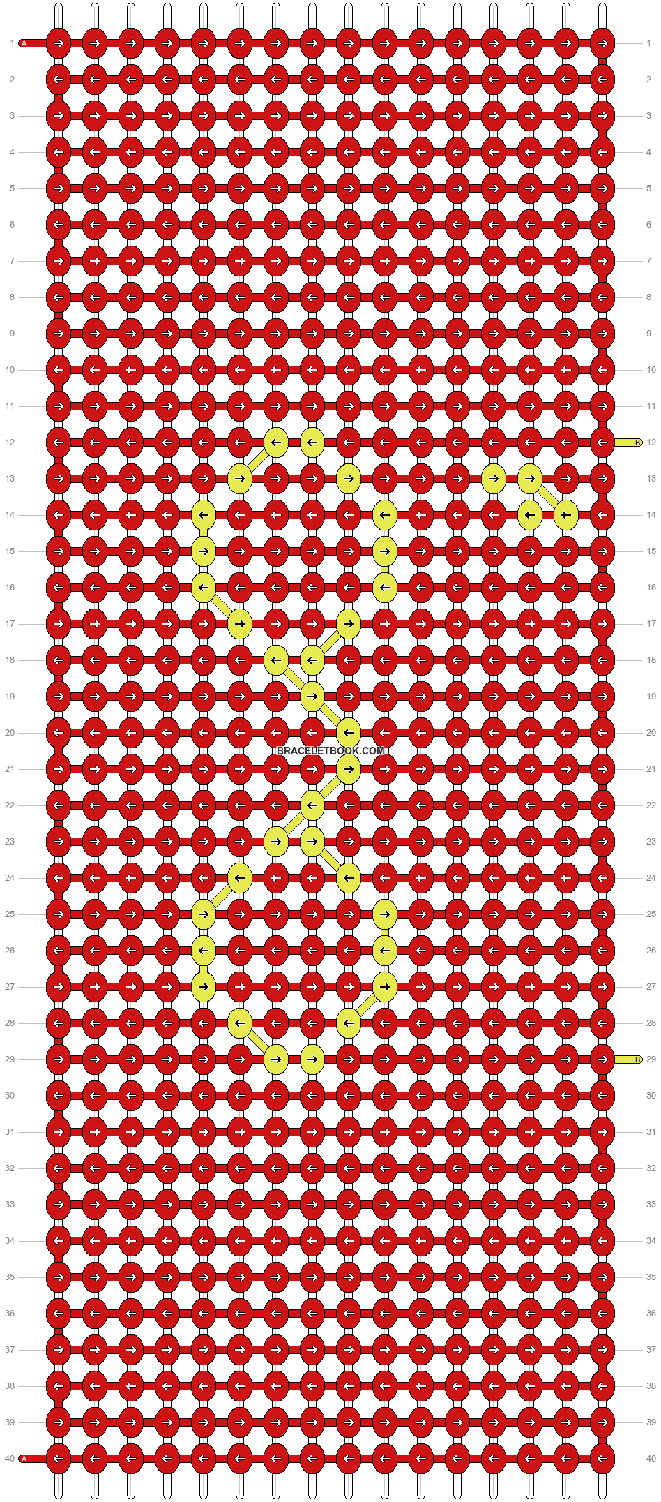 Alpha pattern #73334 pattern