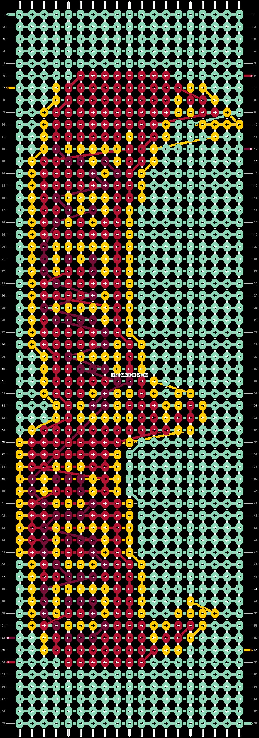Alpha pattern #73340 pattern