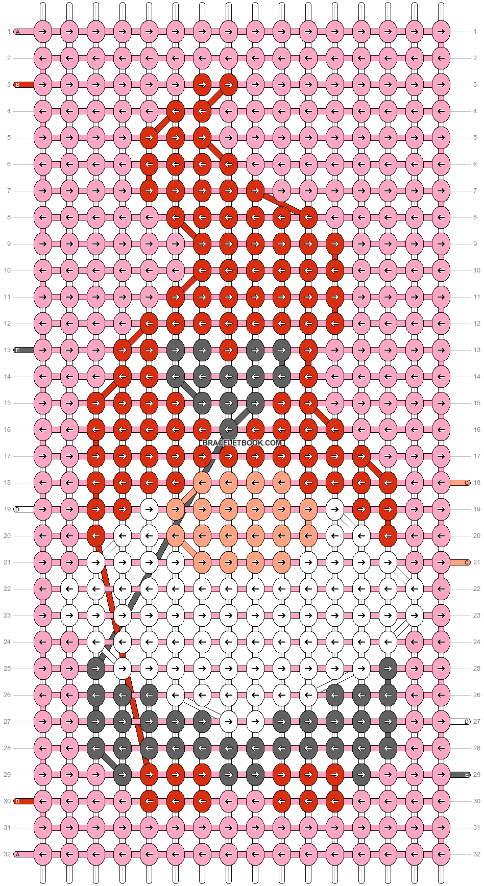 Alpha pattern #73372 pattern