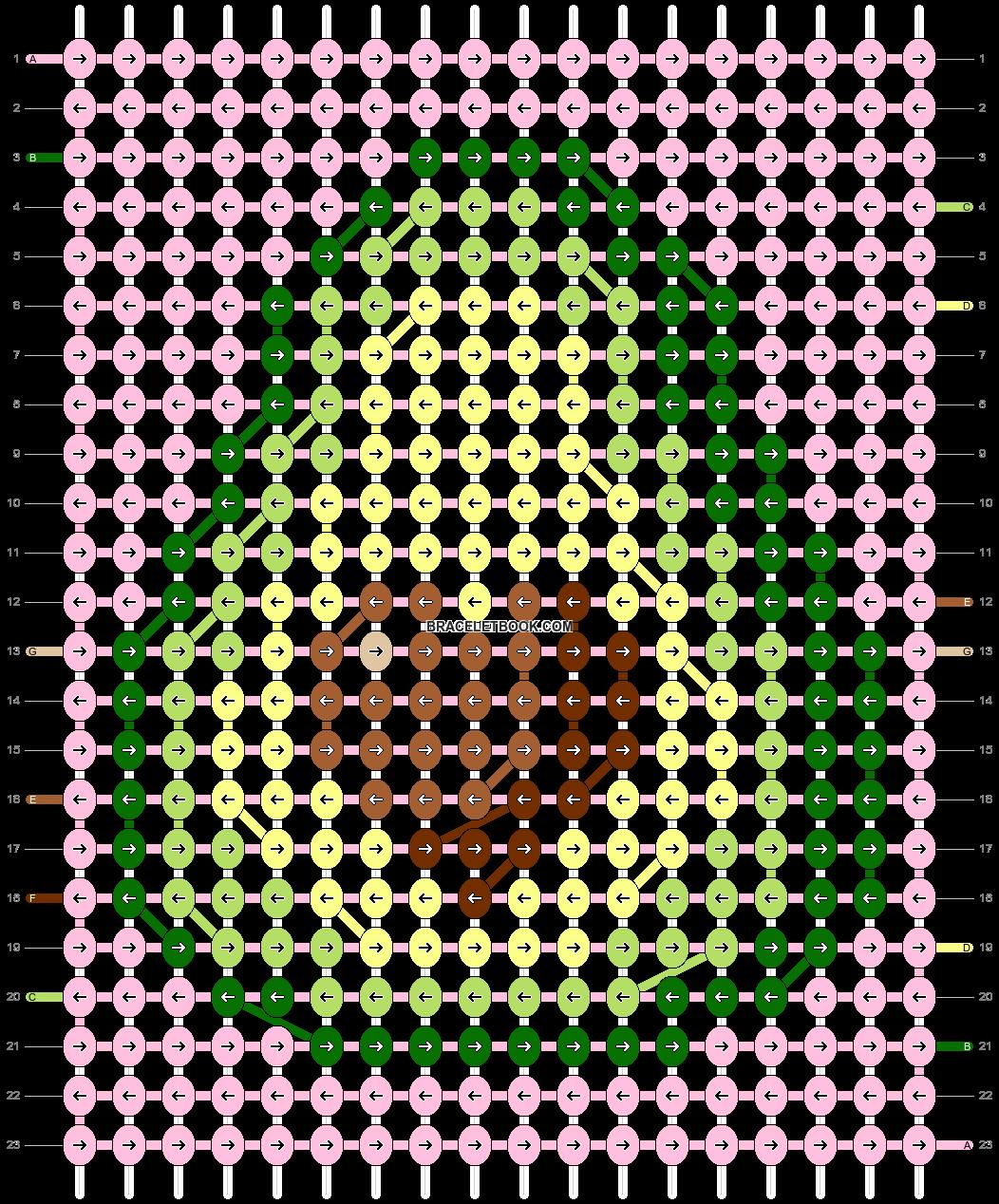 Alpha pattern #73376 pattern