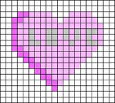 Alpha pattern #73385