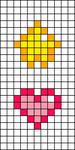 Alpha pattern #73404