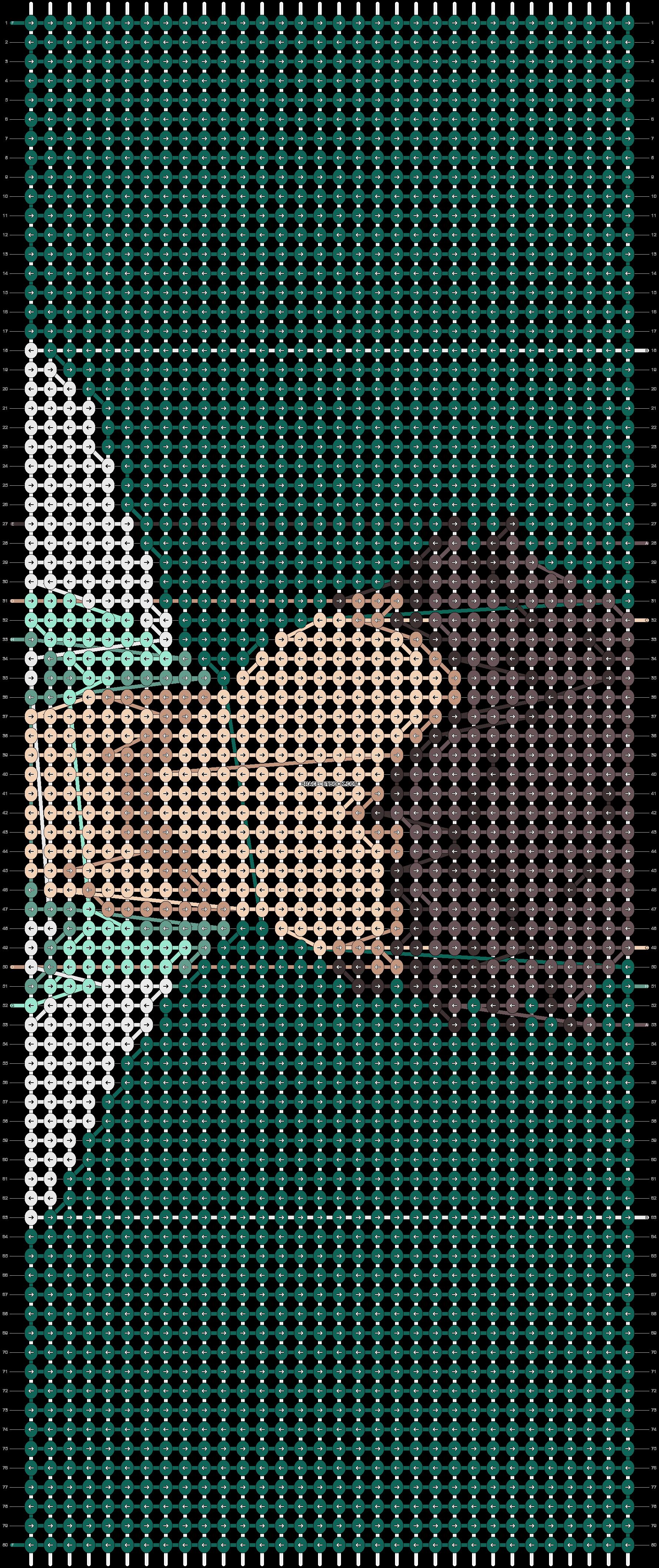 Alpha pattern #73406 pattern