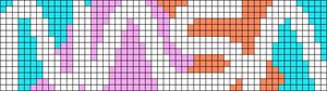 Alpha pattern #73411
