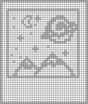 Alpha pattern #73421