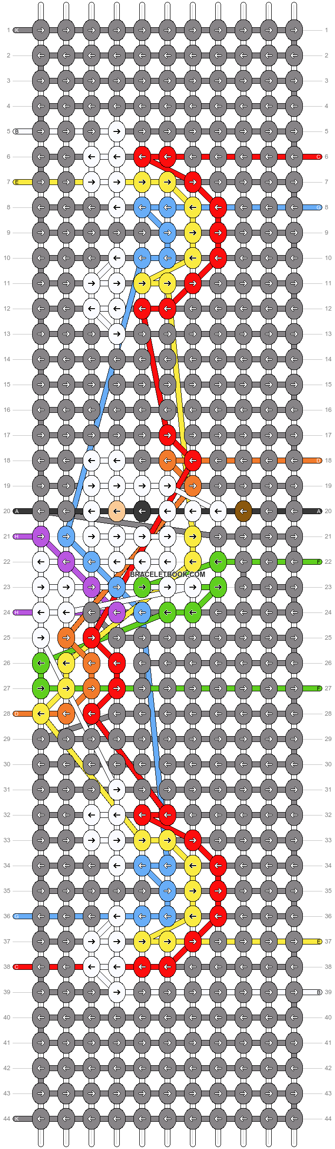 Alpha pattern #73443 pattern