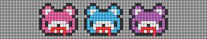 Alpha pattern #73454
