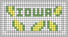 Alpha pattern #73455