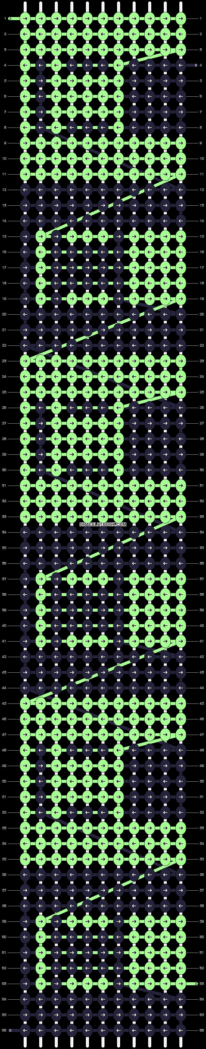 Alpha pattern #73497 pattern