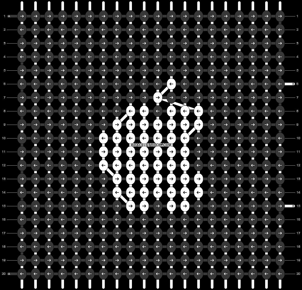 Alpha pattern #73506 pattern