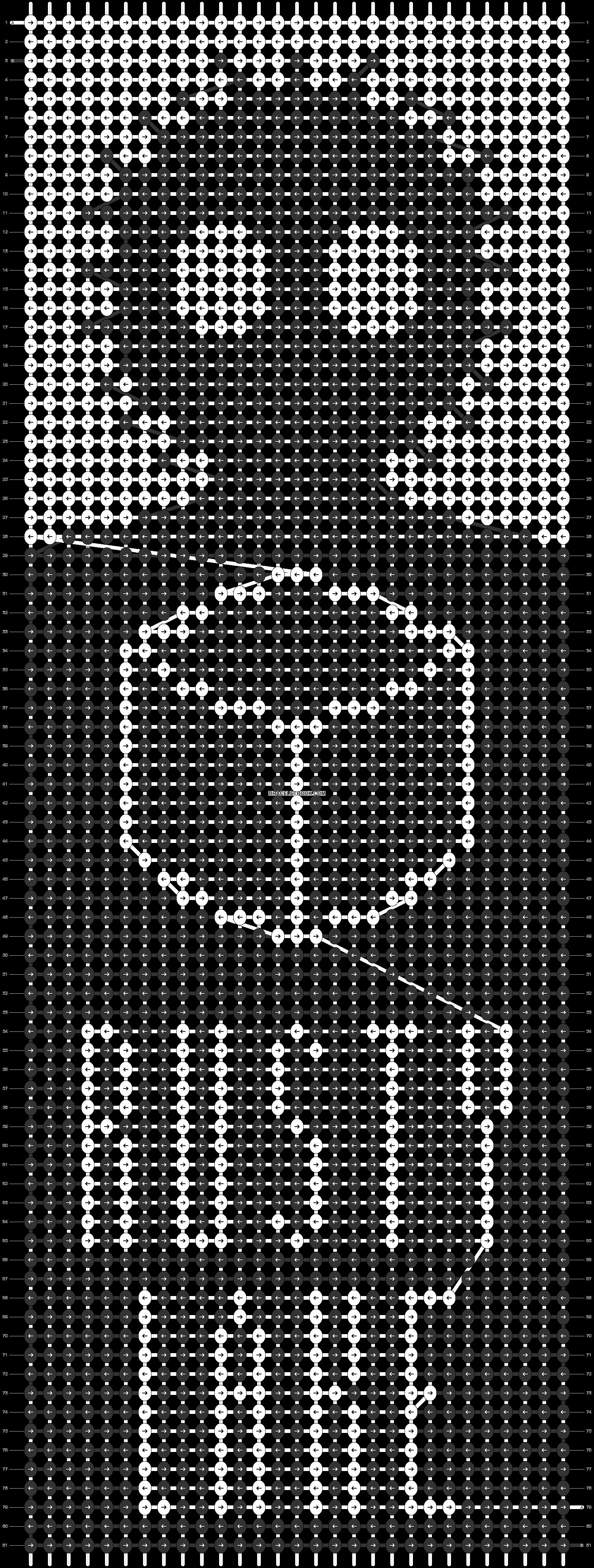Alpha pattern #73526 pattern