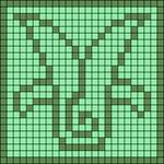 Alpha pattern #73541
