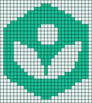 Alpha pattern #73546