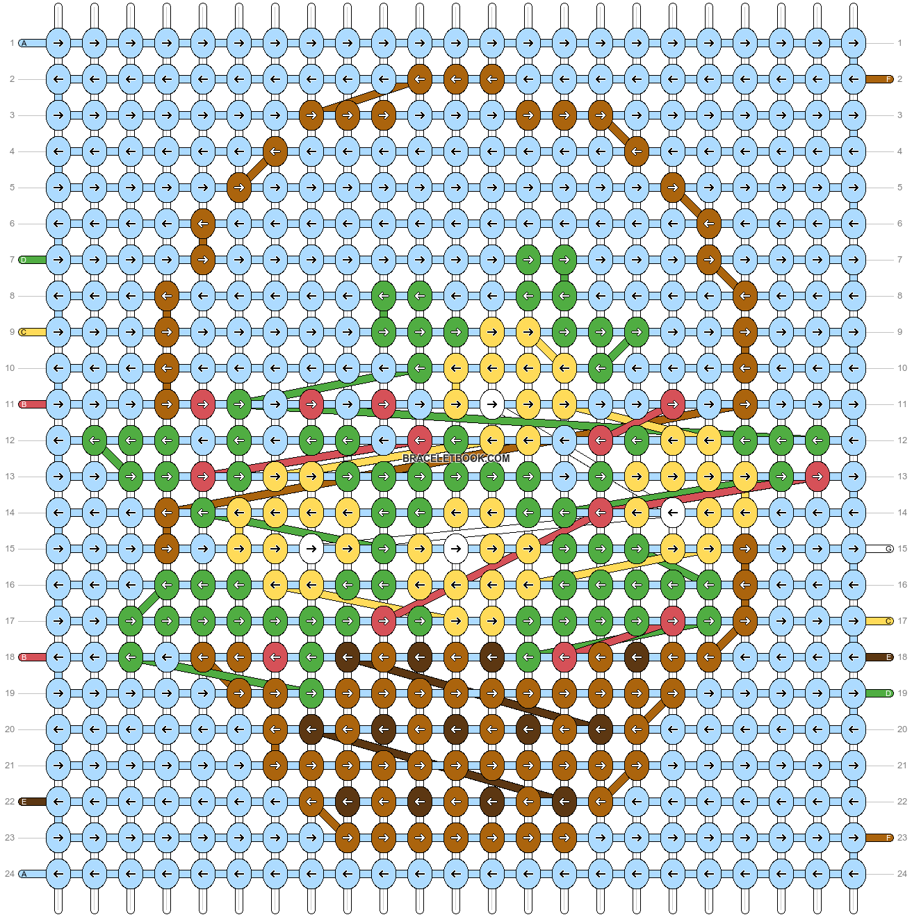 Alpha pattern #73604 pattern