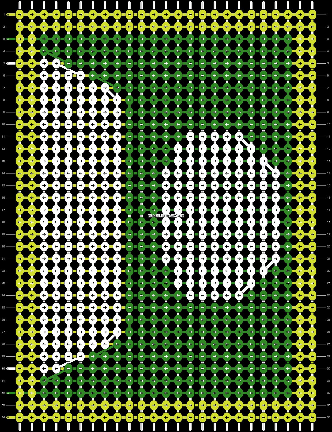 Alpha pattern #73633 pattern