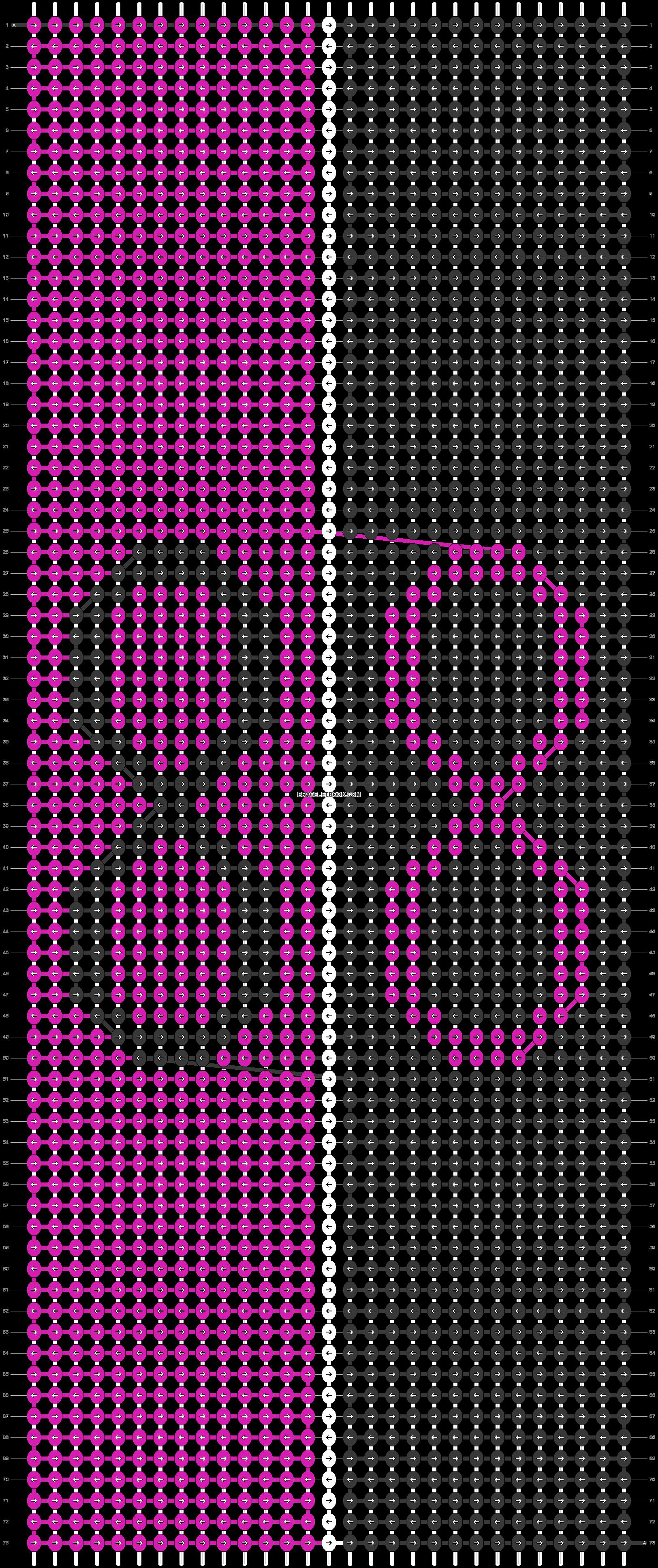Alpha pattern #73644 pattern