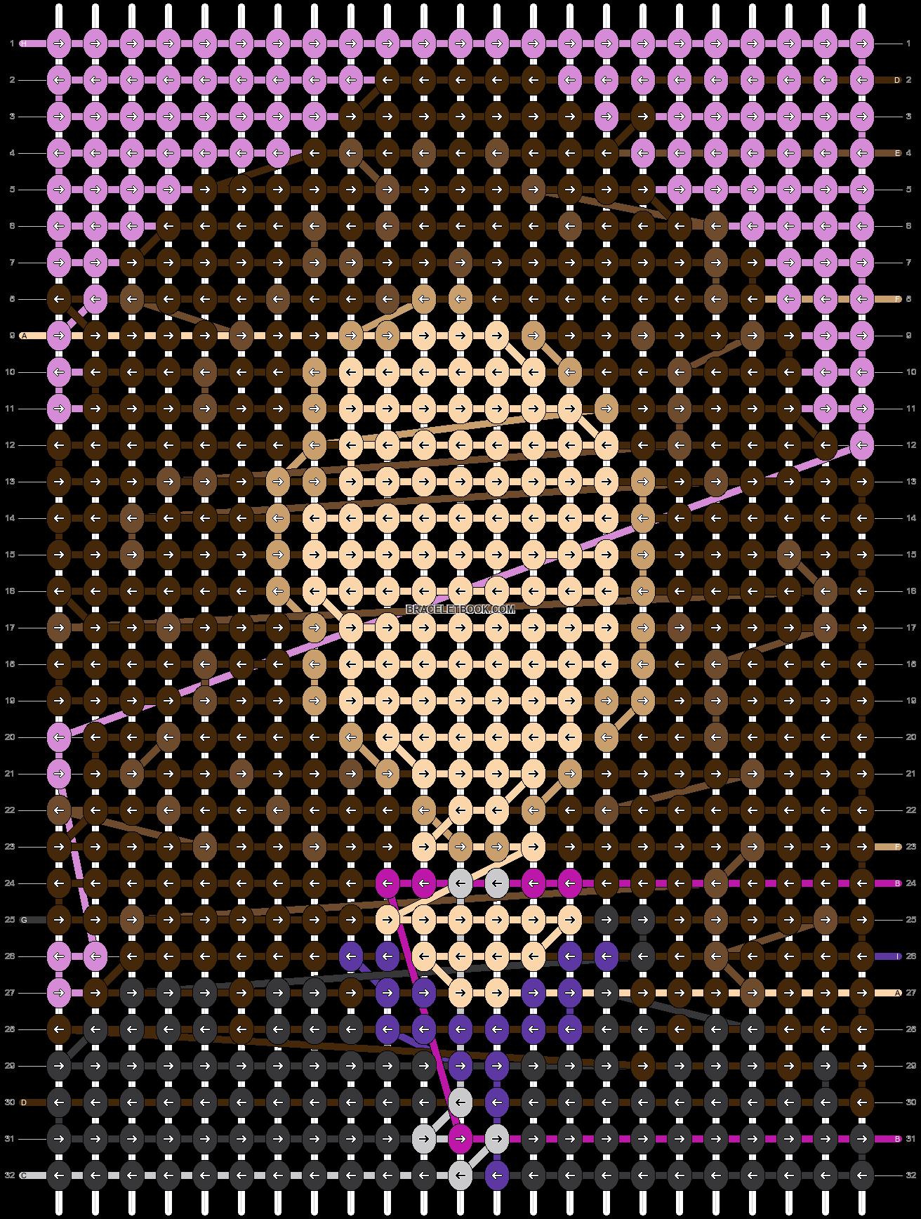 Alpha pattern #73649 pattern