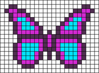 Alpha pattern #73651