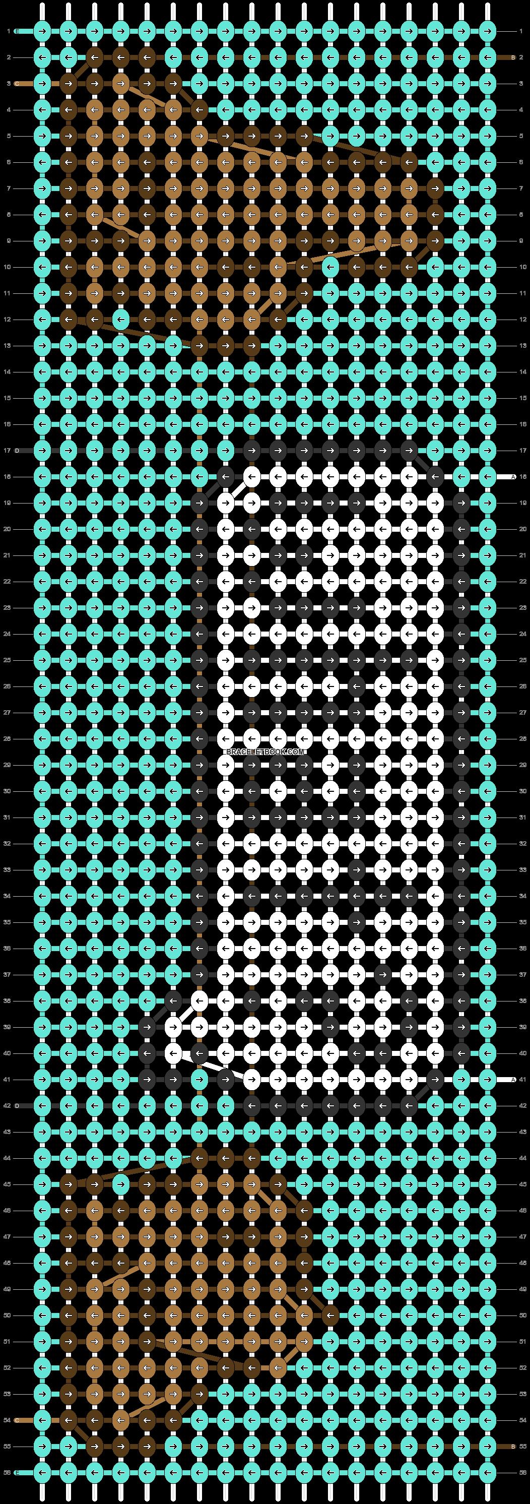 Alpha pattern #73670 pattern