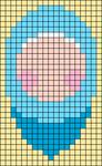 Alpha pattern #73687