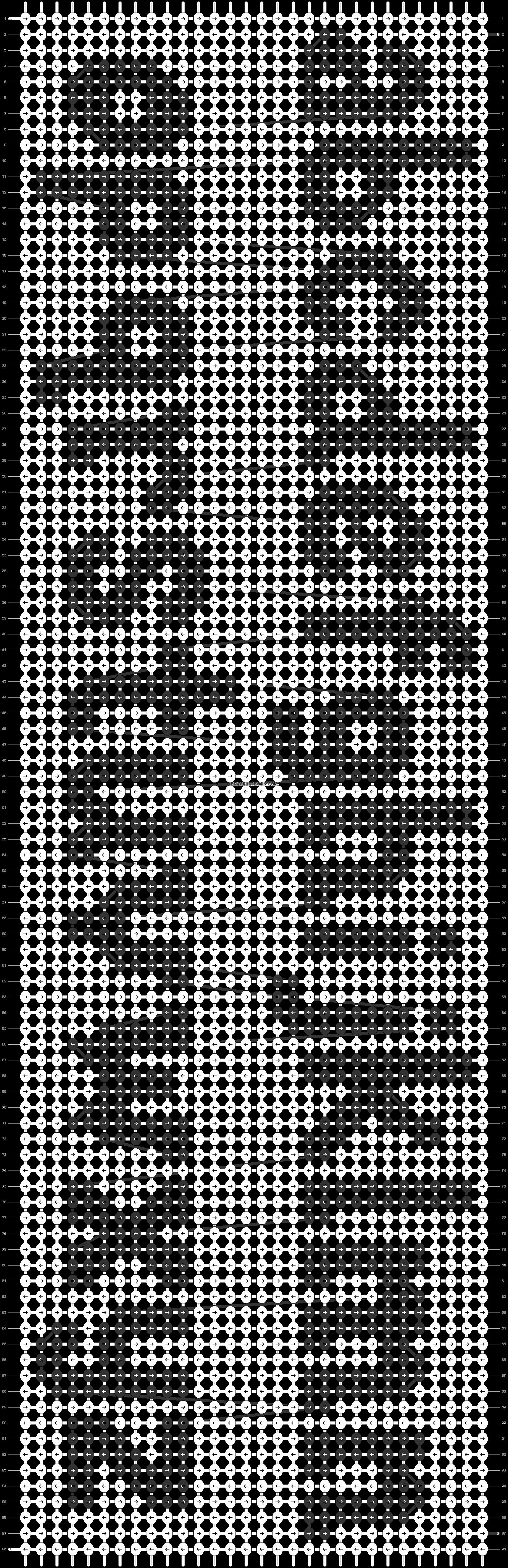 Alpha pattern #73691 pattern