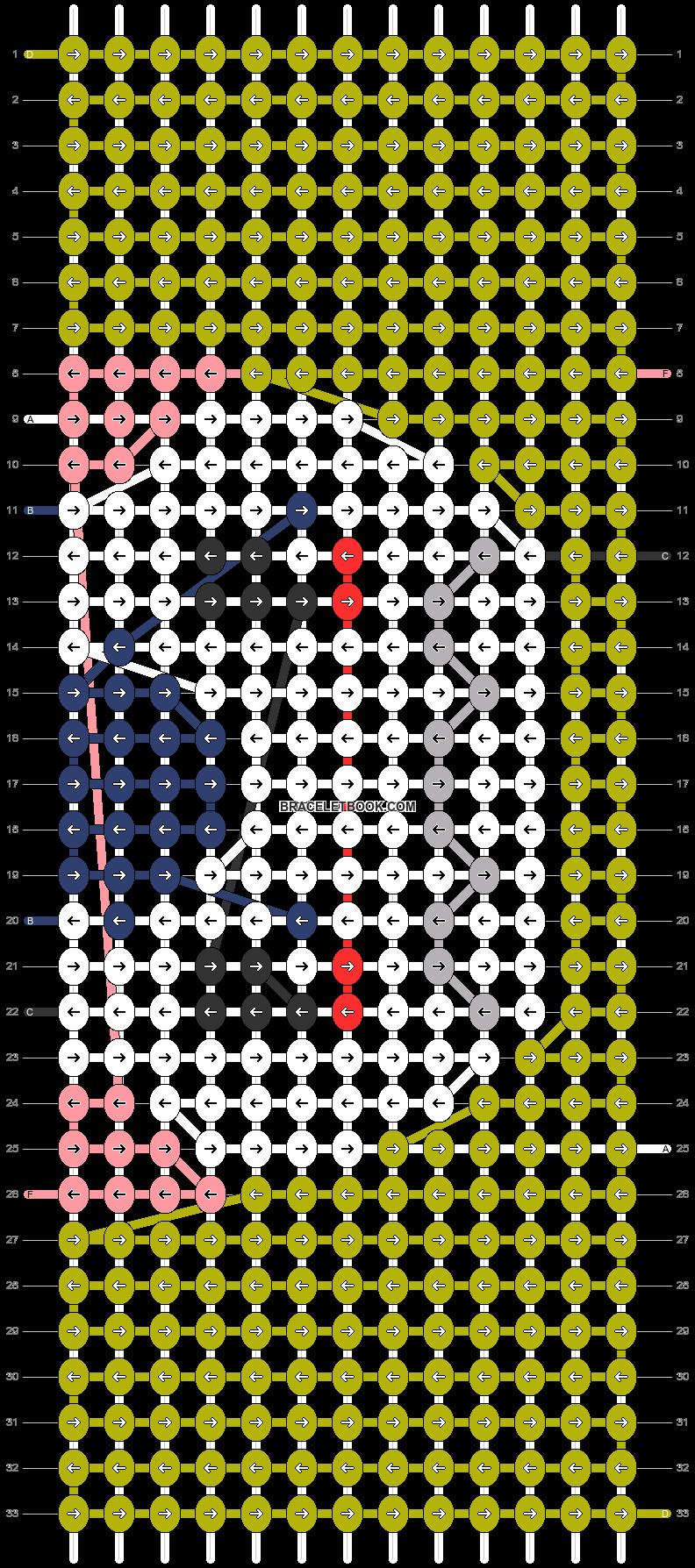 Alpha pattern #73718 pattern