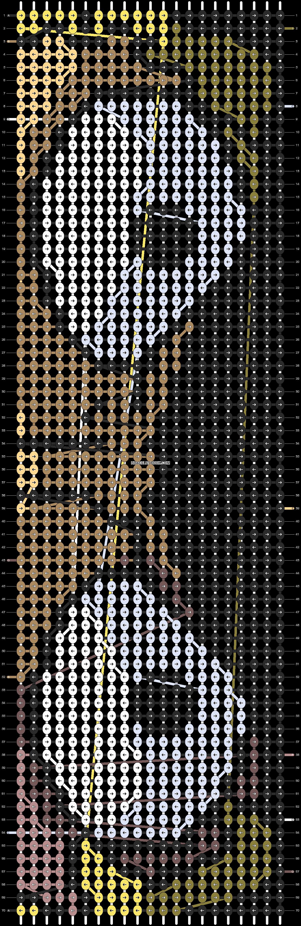 Alpha pattern #73730 pattern