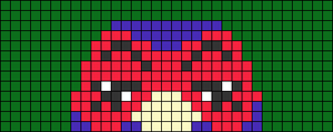 Alpha pattern #73736