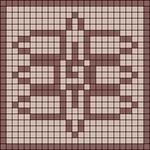 Alpha pattern #73738