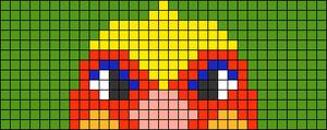 Alpha pattern #73740