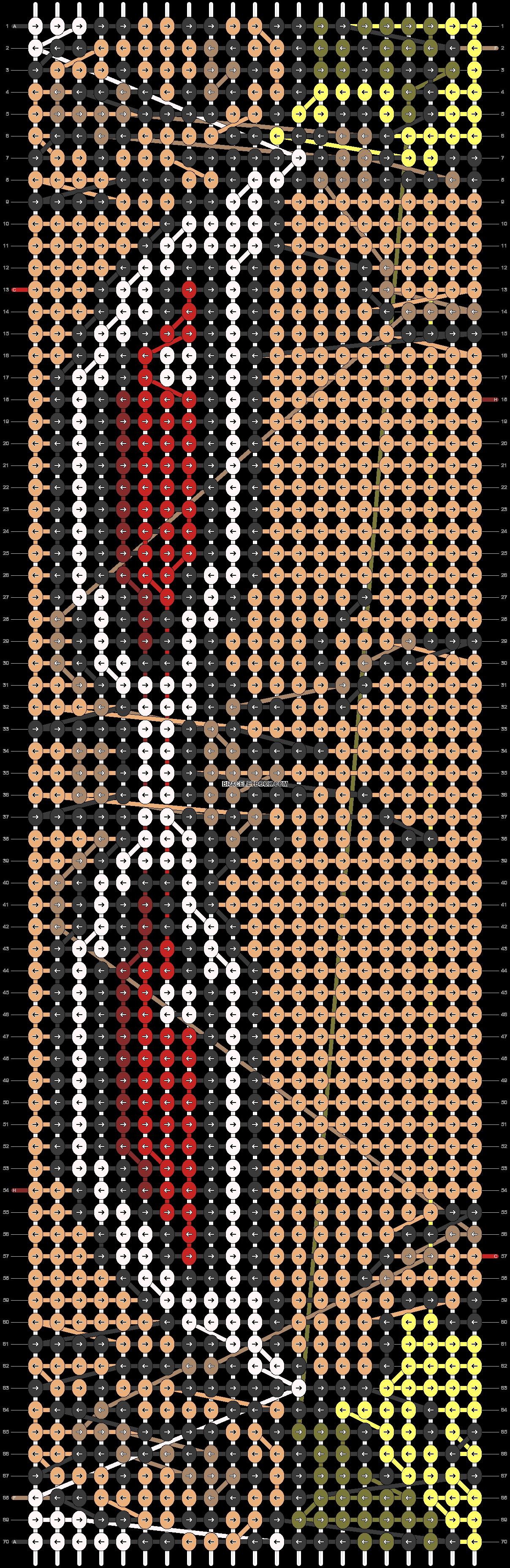 Alpha pattern #73741 pattern