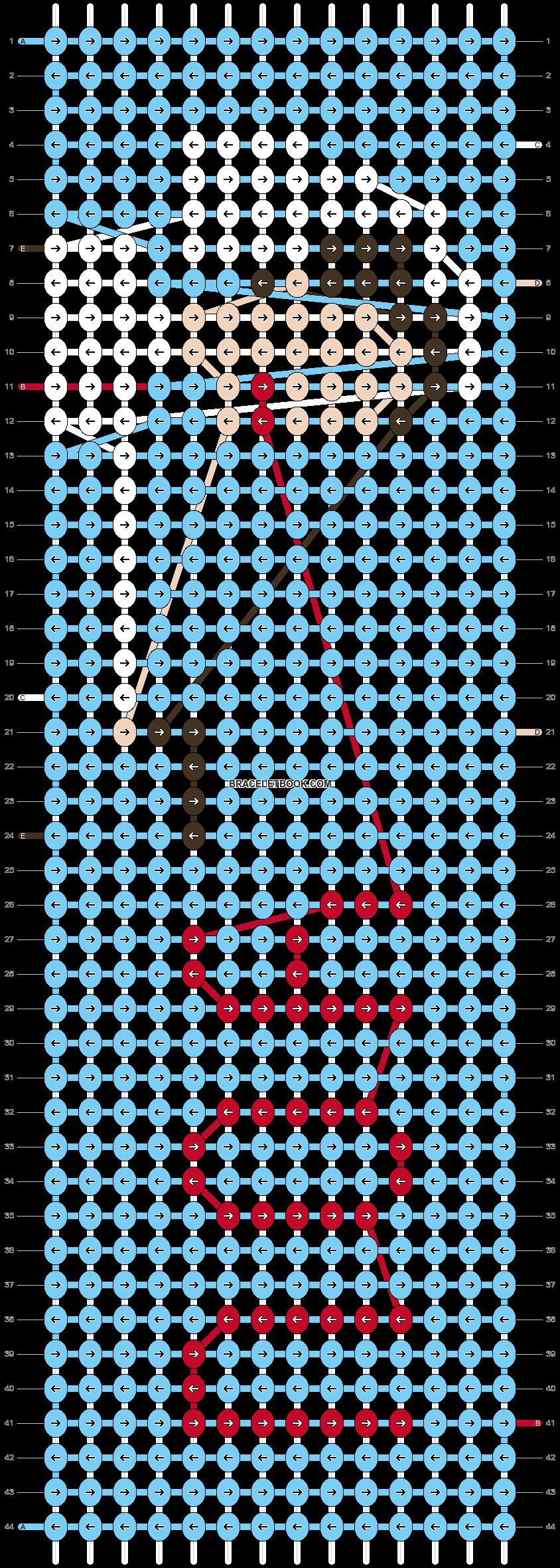 Alpha pattern #73773 pattern