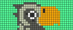 Alpha pattern #73789