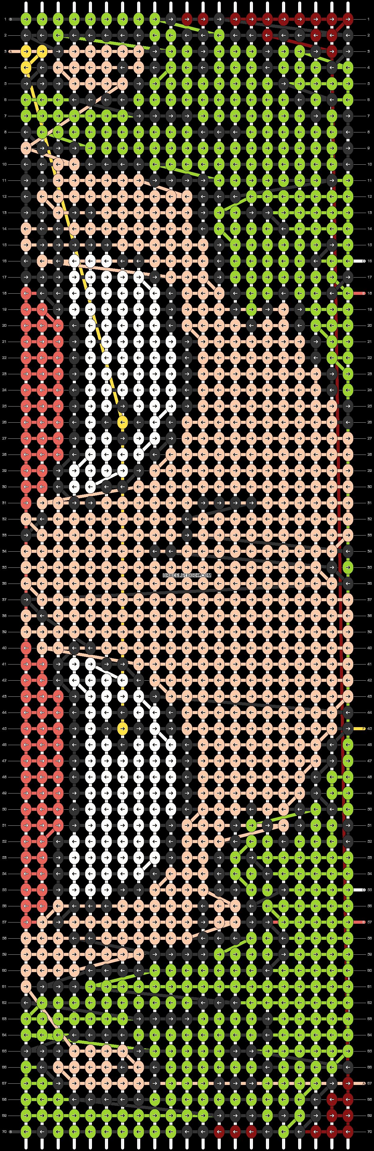 Alpha pattern #73795 pattern