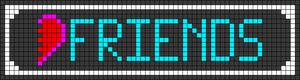 Alpha pattern #73796
