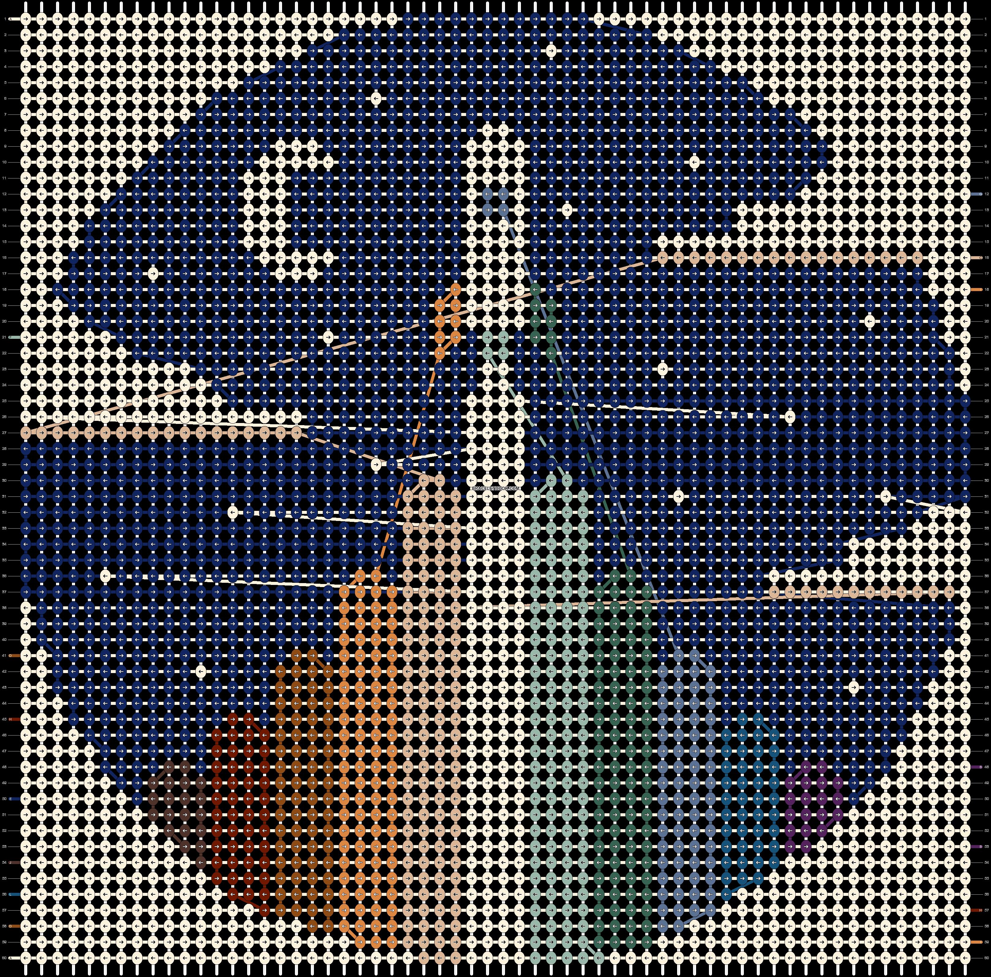 Alpha pattern #73804 pattern