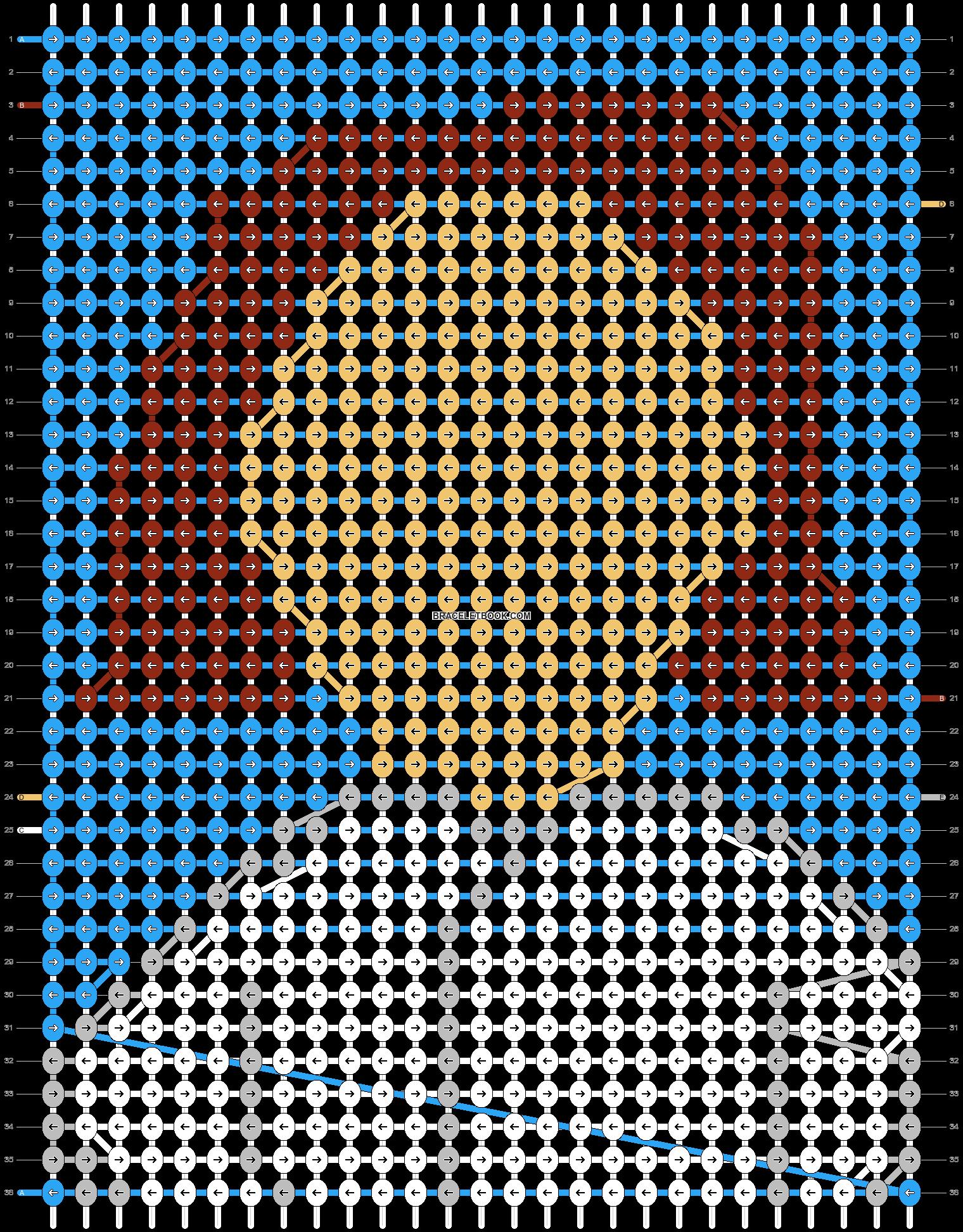 Alpha pattern #73806 pattern