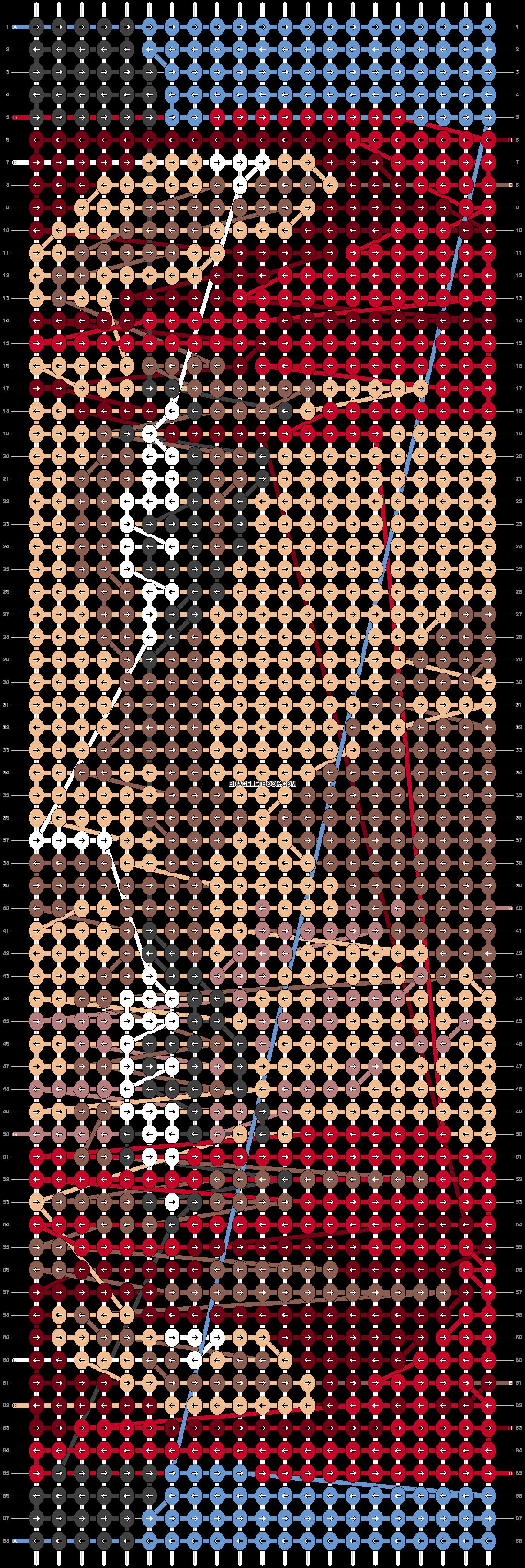 Alpha pattern #73808 pattern