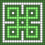 Alpha pattern #73840