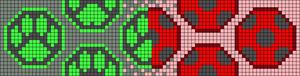 Alpha pattern #73858
