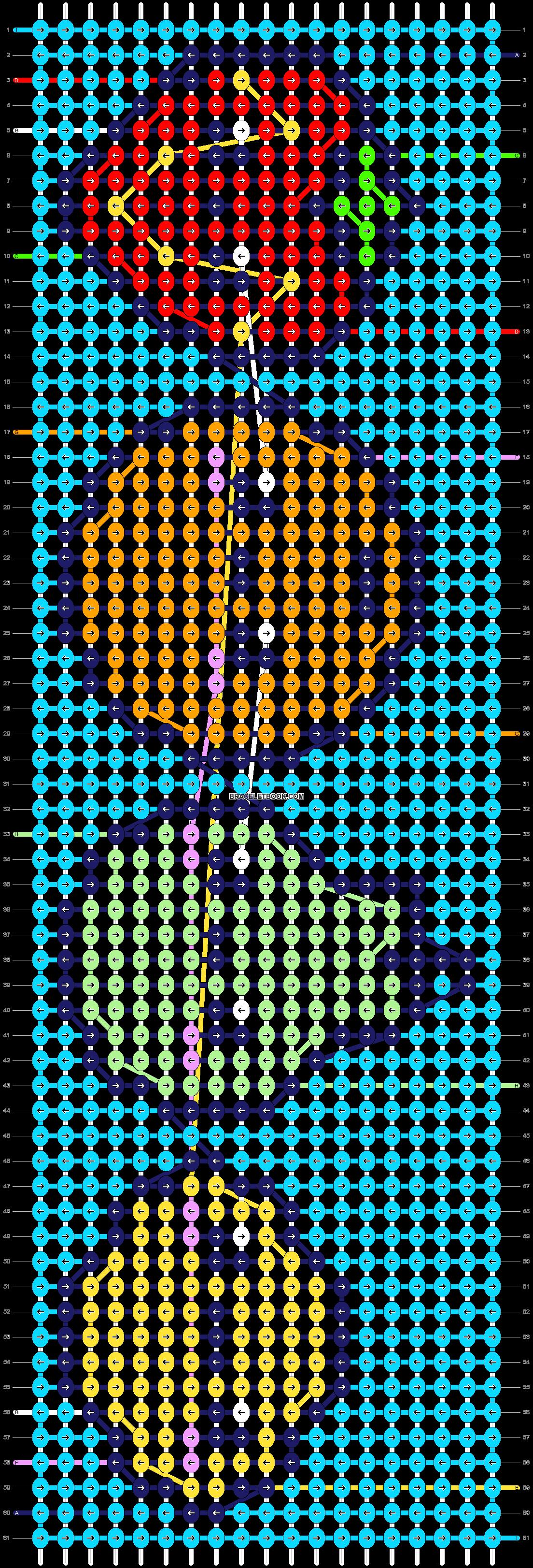 Alpha pattern #73883 pattern