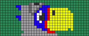 Alpha pattern #73915