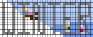 Alpha pattern #73928