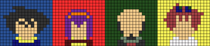 Alpha pattern #73987