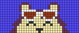 Alpha pattern #73990