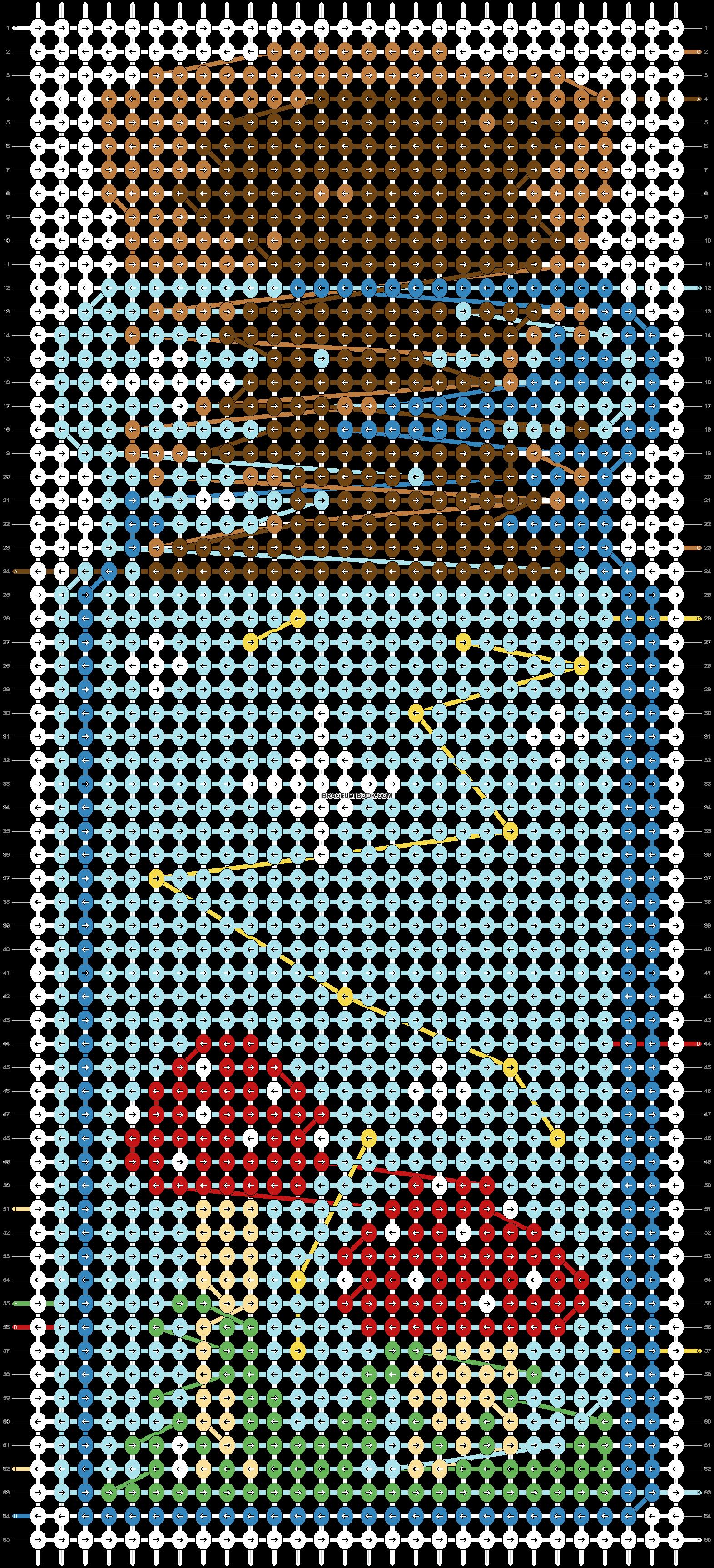 Alpha pattern #73995 pattern