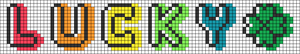 Alpha pattern #74020